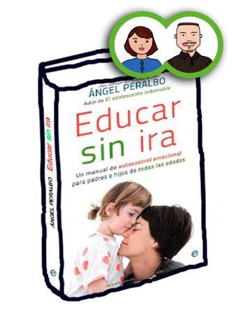 Libro Educar sin ira, Ángel Peralbo, el perruco