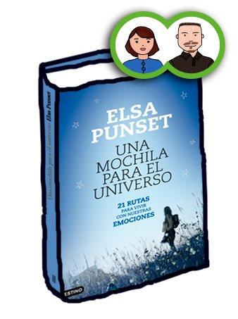 Libro Una mochila para el Universo, Elsa Punset, el perruco