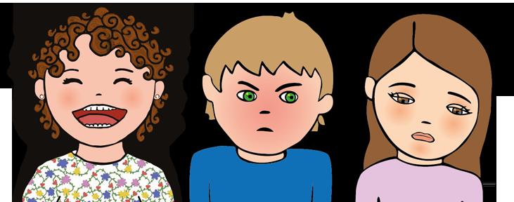 Expresiones faciales de emociones - Talleres de Educación Emocional 'el perruco'